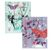 -1st- A5 schriften lijn  - Butterfly girls