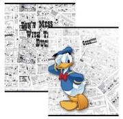 Donald Duck A5 schriften lijn - Don't mess