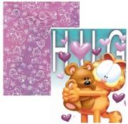 Garfield Girls A5 schriften - teddybeer