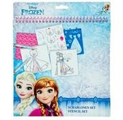 Frozen Jurk ontwerp set