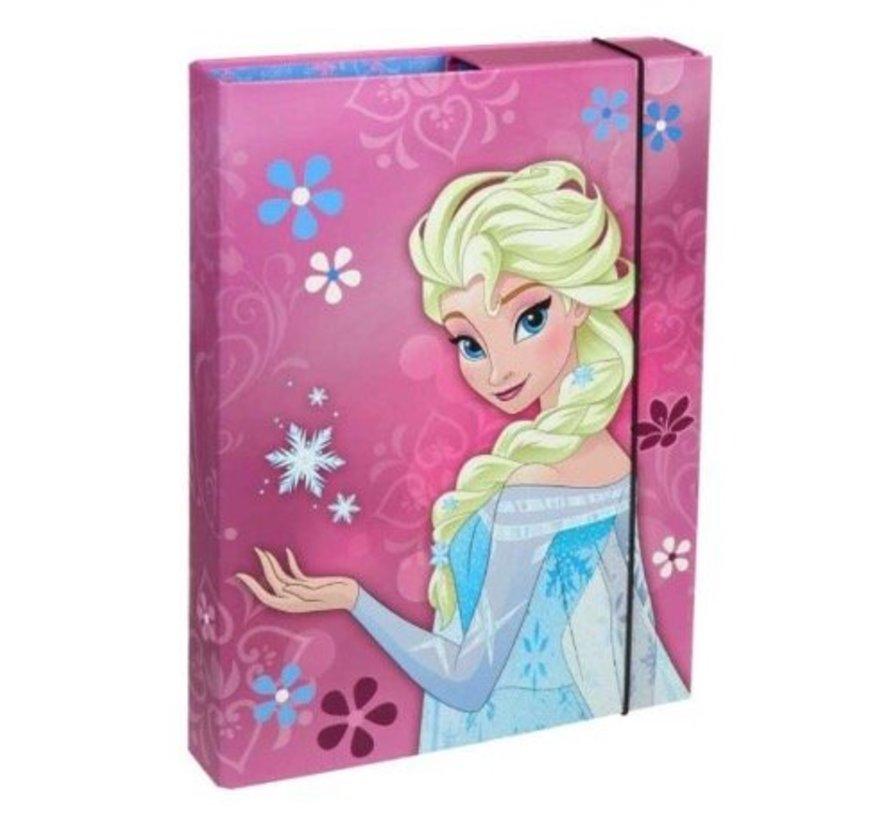 Kleurplaten Frozen A4 Formaat.Frozen Opbergbox