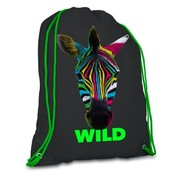 Wild Zwemtas / gymtas  - zebra