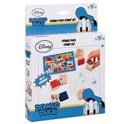 Donald Duck Stempelset - hout