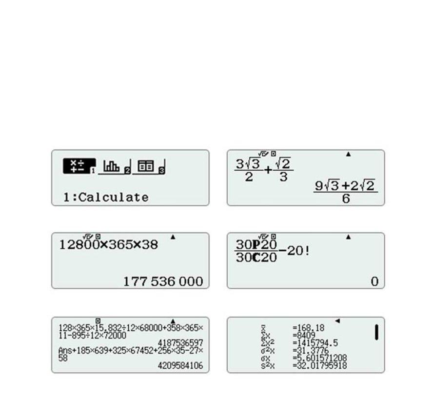 CLASSWIZ FX-82EX calculator