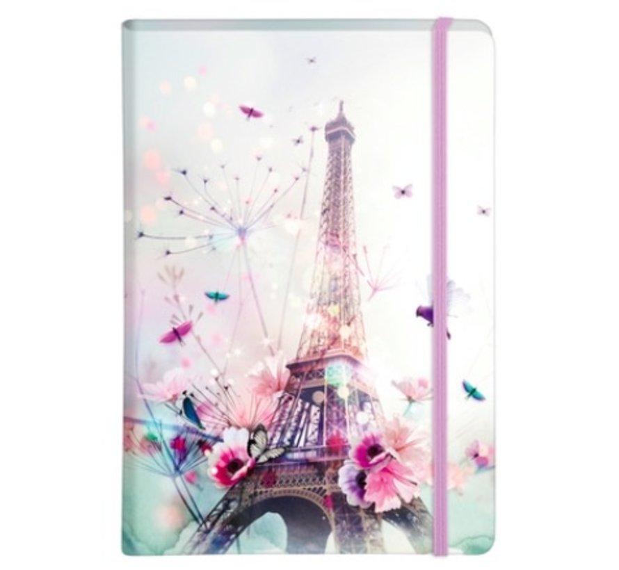 A5 Notitieboek Eiffeltoren