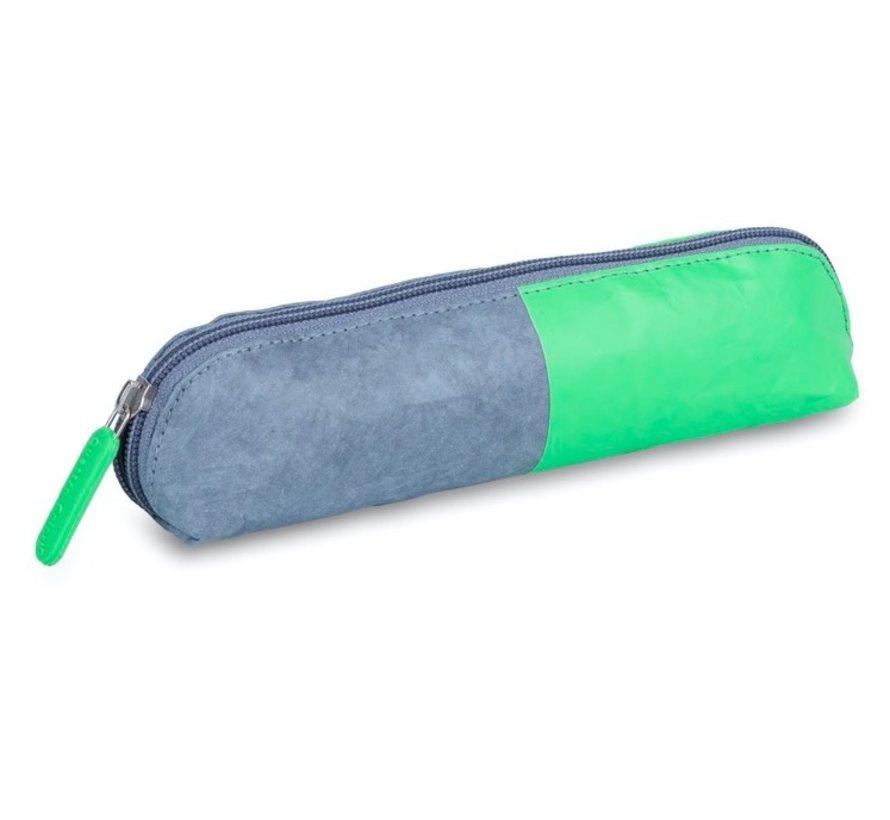 Neon kraft etui - driehoek groen