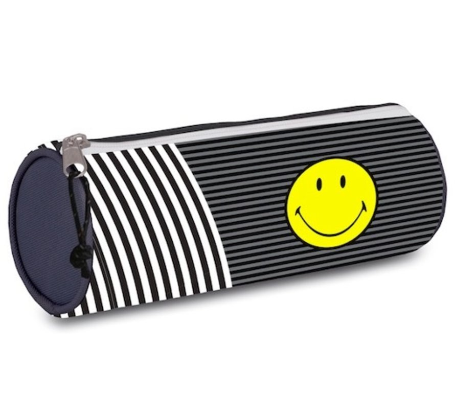 Happy schooletui rond - stripe