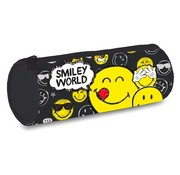 Smileyworld Doodle etui rond - zwart