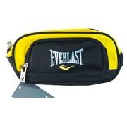 -1st- 24cm Everlast dubbel etui - zwart/geel