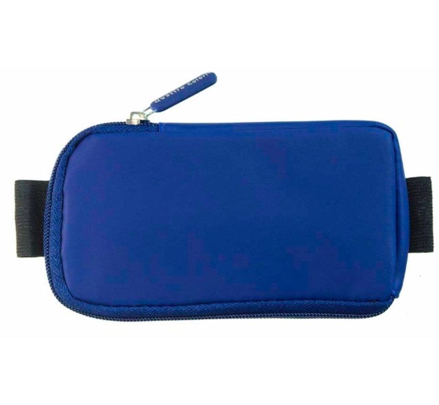Notitieboek etui - blauw