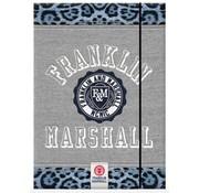 Franklin & Marshall Elastomap A4 - girls luipaard