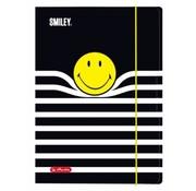 Smileyworld Elastomap A4 - gestreept