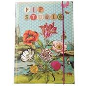 Pip Studio Elastomap A4 - bloemen