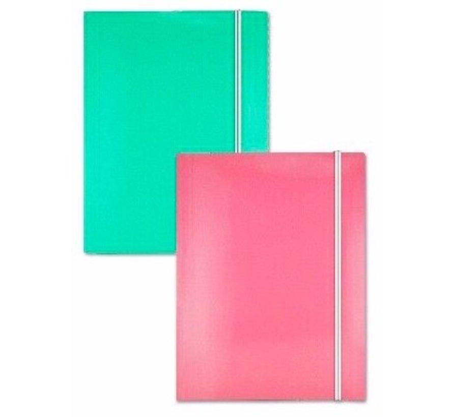 Elastomap A4 - groen
