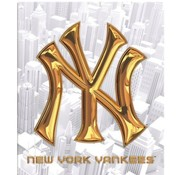 New York Yankees Ringband 23r - wit goud