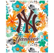 New York Yankees Elastomap A4 - MLB flowers wit