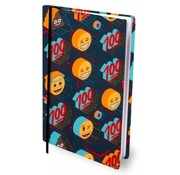 Emoji Boy's rekbaar kaft A4  - 100