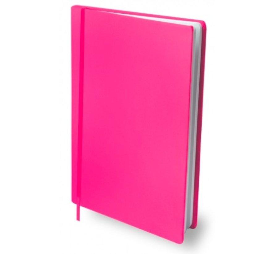 Rekbare kaft A4 - roze