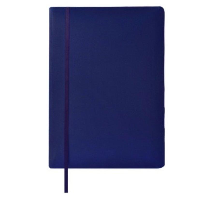 Rekbare kaft A4 - donkerblauw