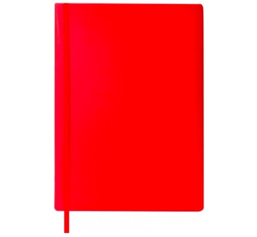 Rekbare kaft A4 - rood