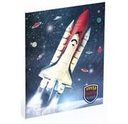 My favourite heroes Schrift A5 - space shuttle