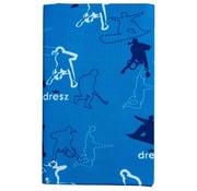Dresz A4 Rekbaar kaft - sports blauw
