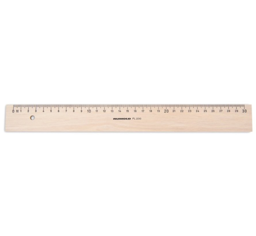 Liniaal hout - 20cm