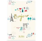 Rice A4 lijntjes schrift - Paris