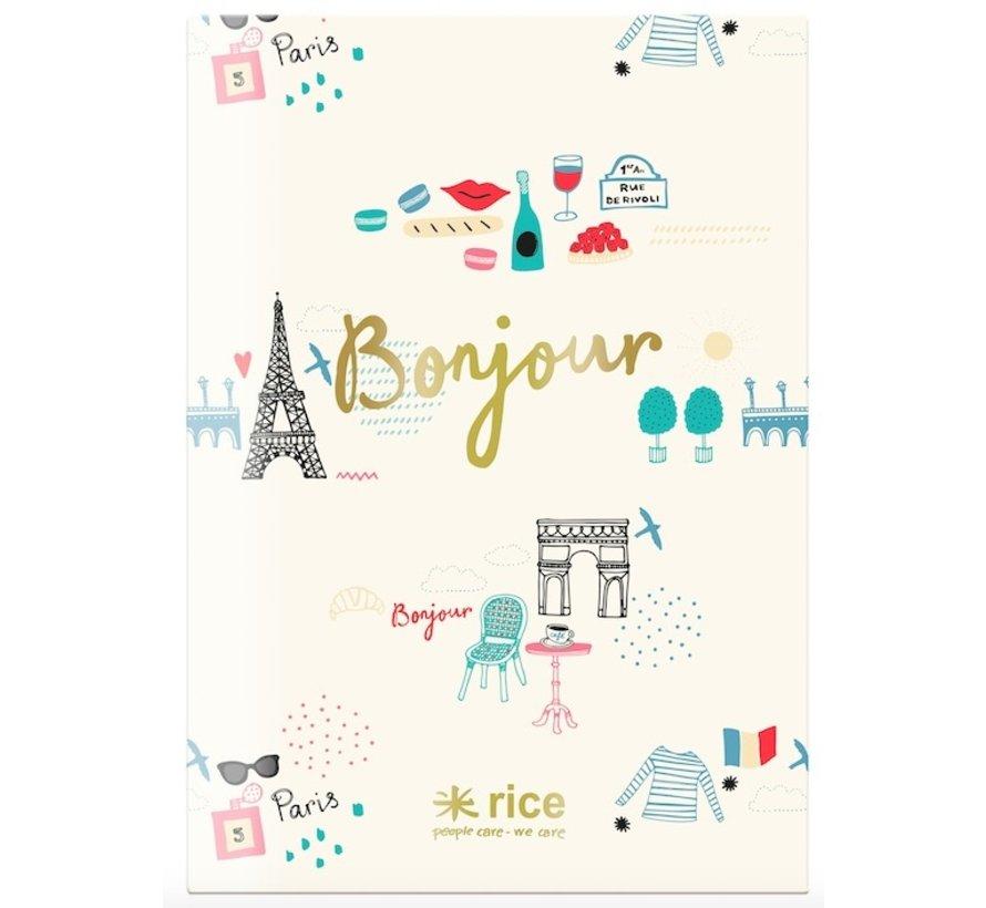 A4 schrift gelinieerd -  Paris