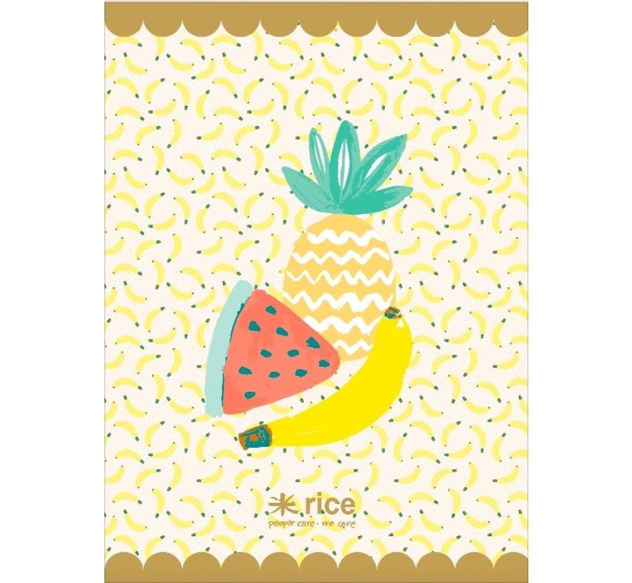 A4 schrift gelinieerd -  Fruit