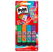 Pritt Fun colors lijmstiften - 10gr 4st