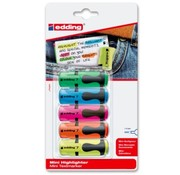Edding Mini highlighter - 5 stuks