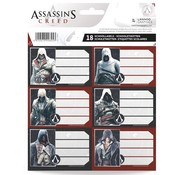 Assassin's Creed Etiketten