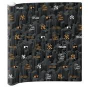 New York Yankees Kaftpapier  - zwart/goud