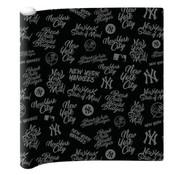 New York Yankees Kaftpapier  - zwart