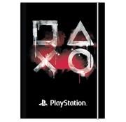 Play Station Elastomap A4 - Zwart