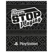 Play Station A4 lijntjes schrift - zwart
