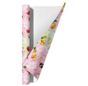 Emoji 0,7x2m  Girls kaftpapier - tropic