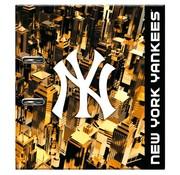 New York Yankees Ordner - zwart/goud