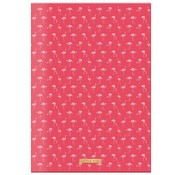 Little Diva A4 lijntjes schrift  - Flamingo