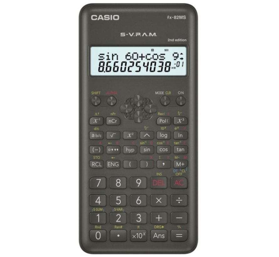 FX-82 MS 2nd edition calculator