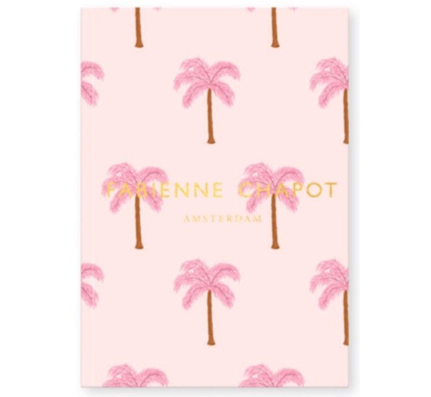 Notitieboek A5 gelinieerd - palm
