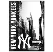 New York Yankees City A4 ruitjes schrift