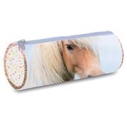 My Favourite friends Etui paard blauw