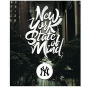 New York Yankees Ringband 23r - zwart