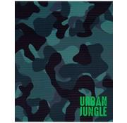 Urban Jungle A5 schriften lijn