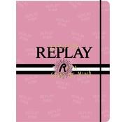 Replay Elastomap A4 - roze