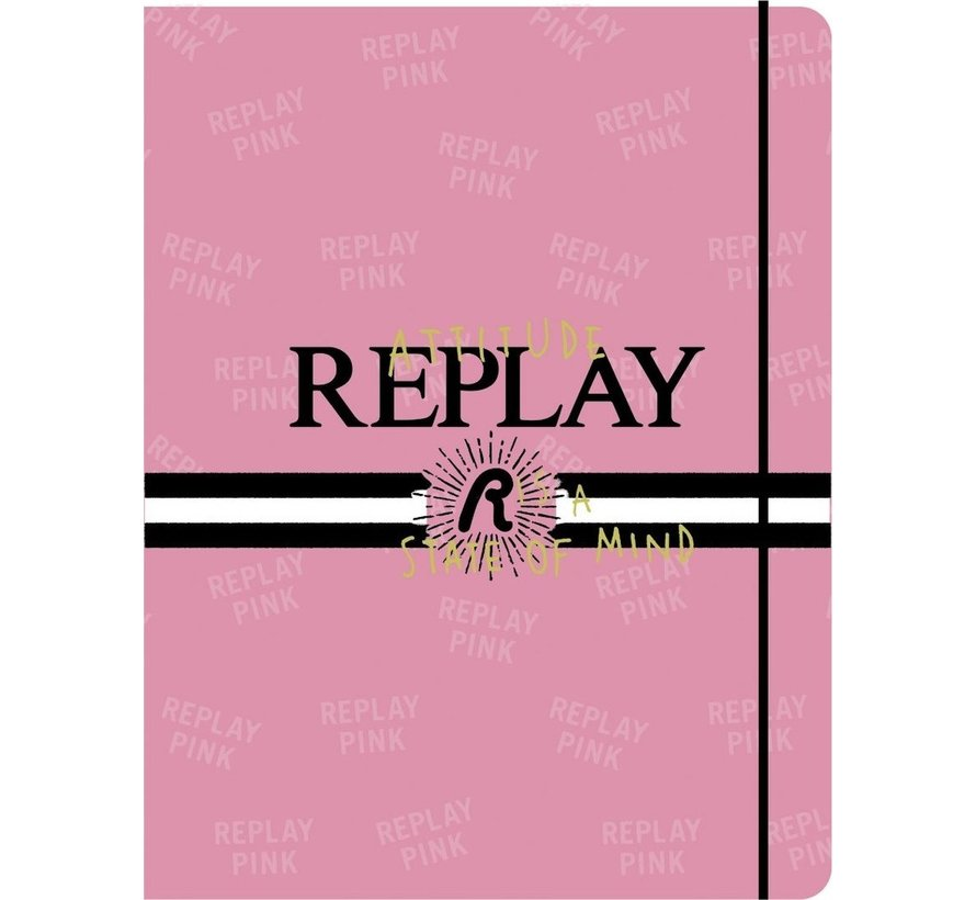 Elastomap A4 - roze