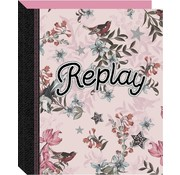 Replay Ringband 23r - pink flowers