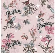 Replay Kaftpapier - pink flowers